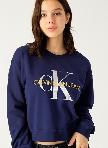 Calvin Klein Sweatshirt Lacivert
